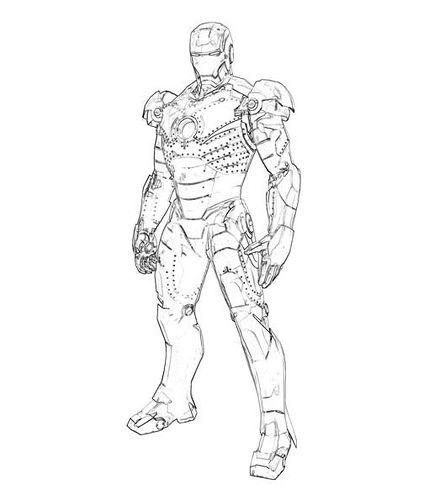 Iron man párrafo pintar | DIBUJOS DE MARVEL | Pinterest | Dibujos de ...