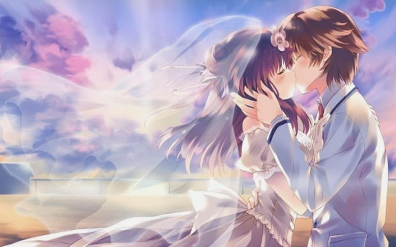 Hình ảnh anime tình yêu đẹp lãng mạn