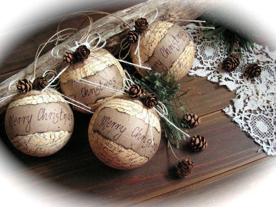 Handmade Christmas ornaments . A special and rare item.  Very decorative. Enjoy.
