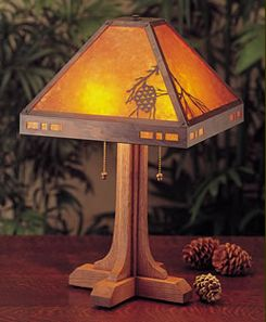 Arts Craft Mission Copper Mica Lighting For The Home In