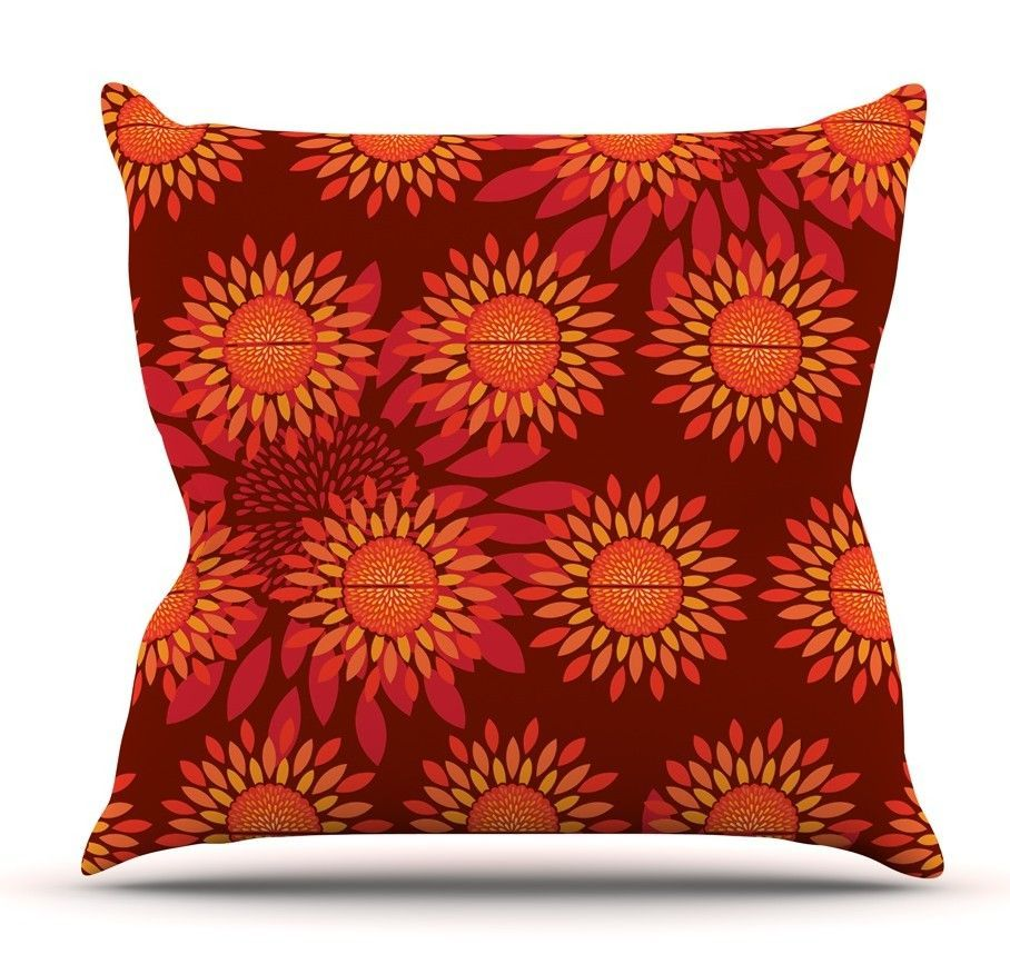 Sunflower season throw pillow products pinterest throw pillows