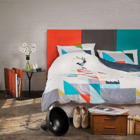 "Gullfuglen Duvet Set // One Pillowcase (Duvet: 55""L x 78.7""W; Pillowcase: 20""L x 27.5""W)"