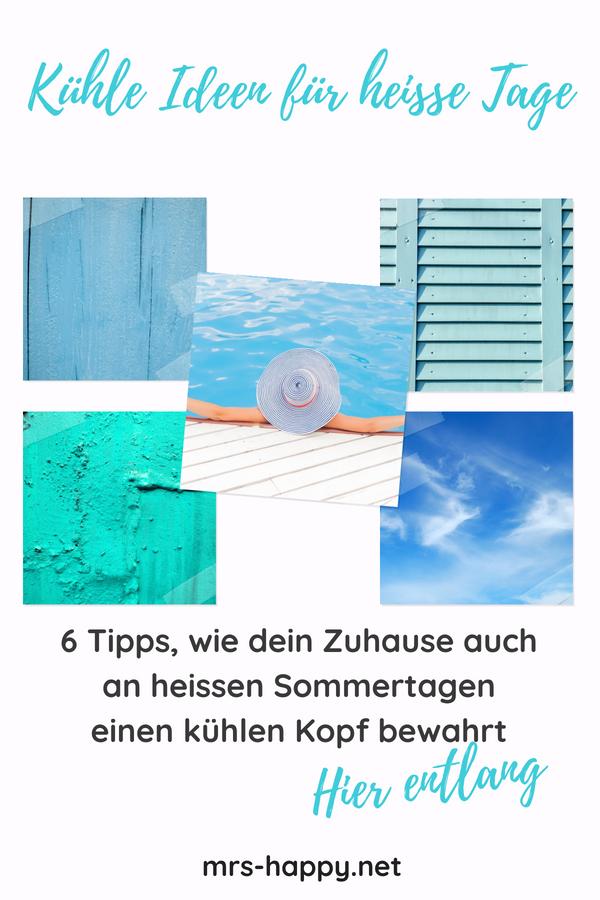 6 Tipps, wie dein Zuhause auch an heissen Sommertagen