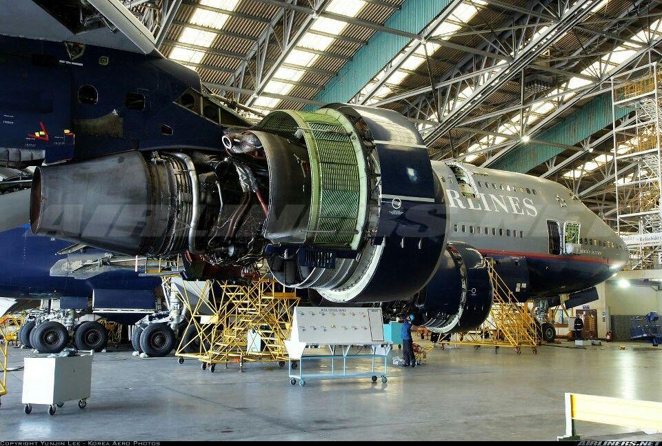 B747422 Aircraft maintenance, Aircraft, Boeing 747