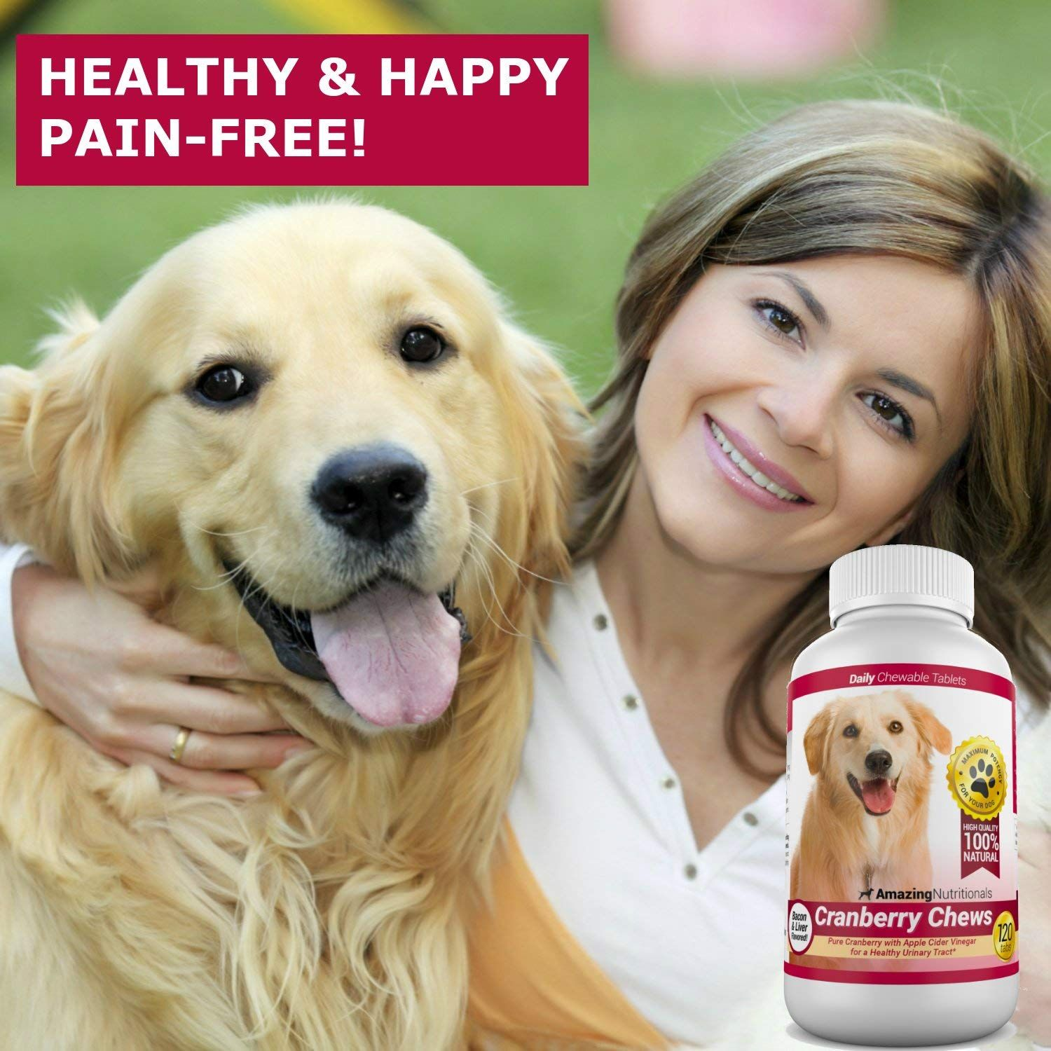Amazing Cranberry For Dogs Pet Antioxidant Urinary Tract Support Prevents And Eliminates Uti In D With Images Fish Oil Dogs Can Dogs Eat Oranges Can Dogs Eat Strawberries