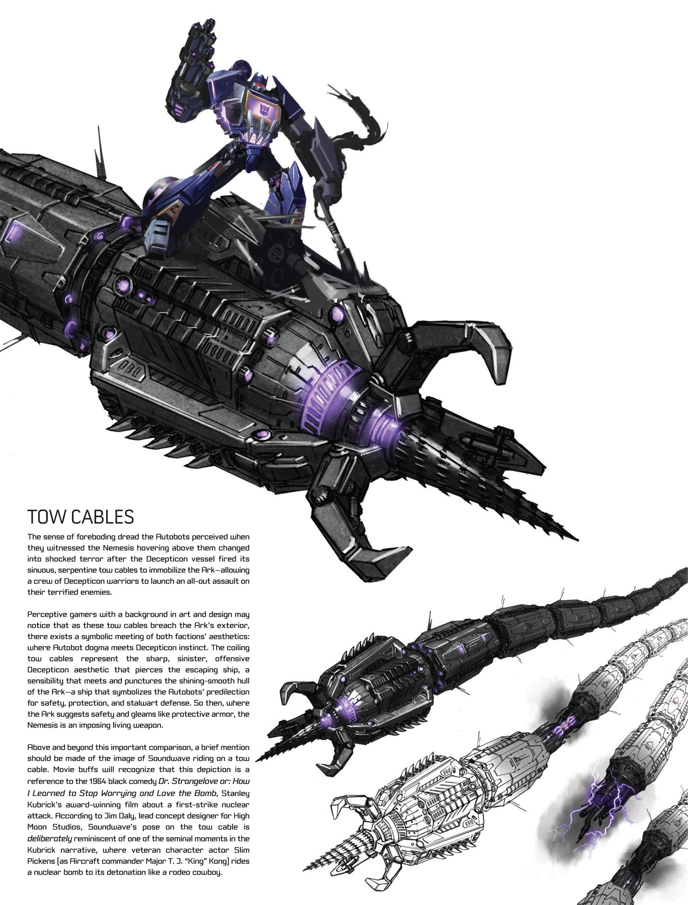 Fall Of Cybertron Concept Art