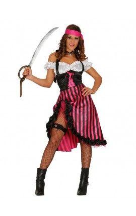 Pin En Disfraces De Pirata Para Mujer