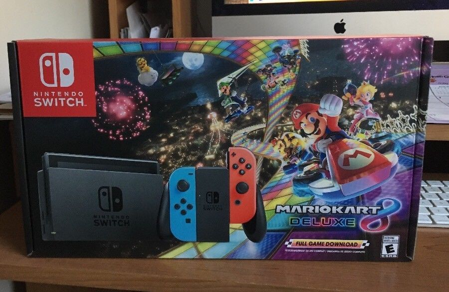 Nintendo Switch 32gb Mario Kart 8 Deluxe Bundle Brand New In Hand Ready To Ship Nintendoswitch Nintendo Nintendo Switch Nintendo Switch Splatoon 2 Nintendo