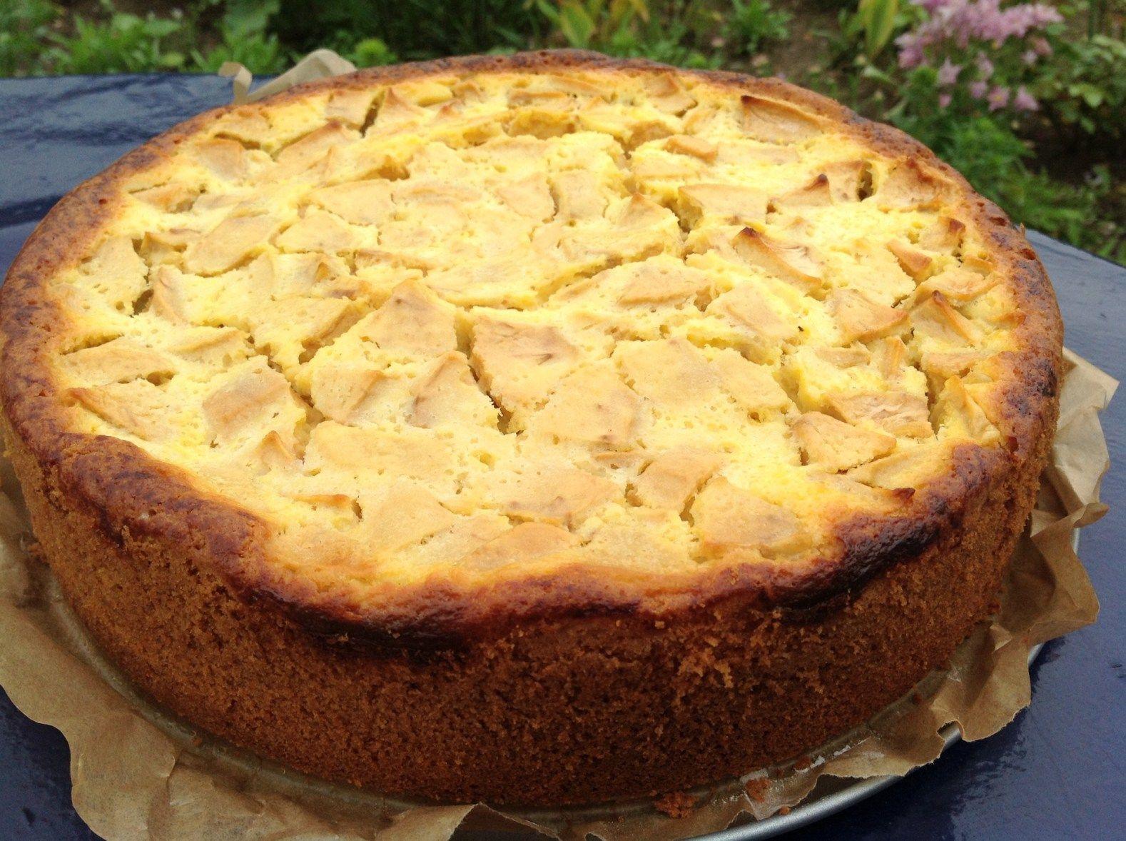 Quark Apfel Kuchen Einfach In Der Zubereitung Jabuke Apfel