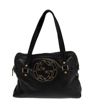 26e25d01df4 Gucci Soho (21225) Black Bag - Satchel.