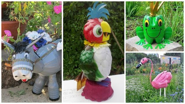 C mo hacer figuras de animales con botellas de pl stico for Como hacer una granja de peces