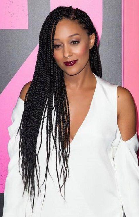 Tia Mowry | Braided hairstyles, Natural hair styles, Ghana braids hairstyles