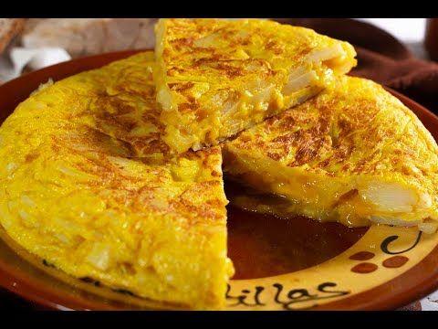 Tortilla de patatas. Trucos y consejos para una rica tortilla casera. VIDEO