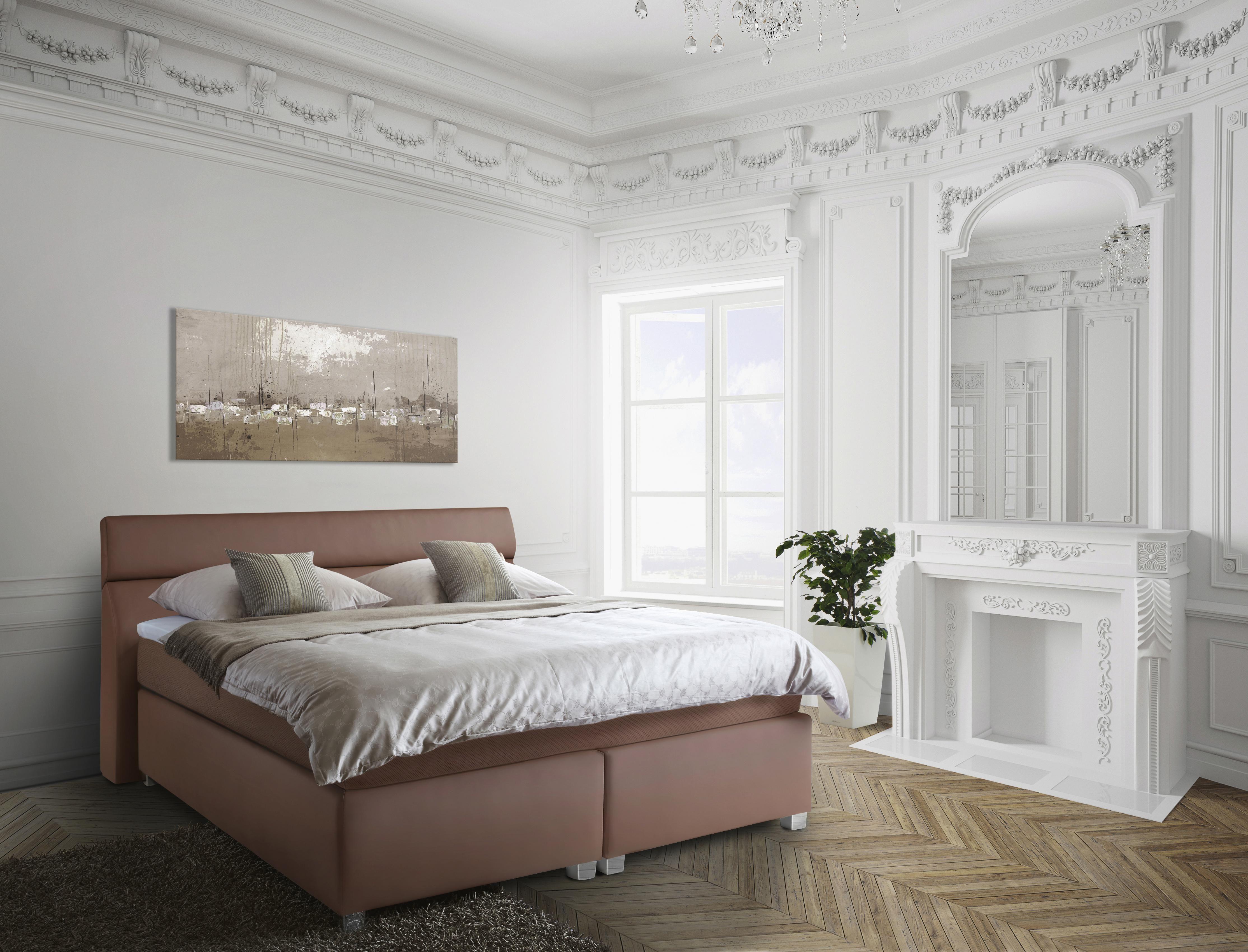das boxspringbett ist der garant f r guten schlaf die grundlage daf r bildet die hohe box auf. Black Bedroom Furniture Sets. Home Design Ideas
