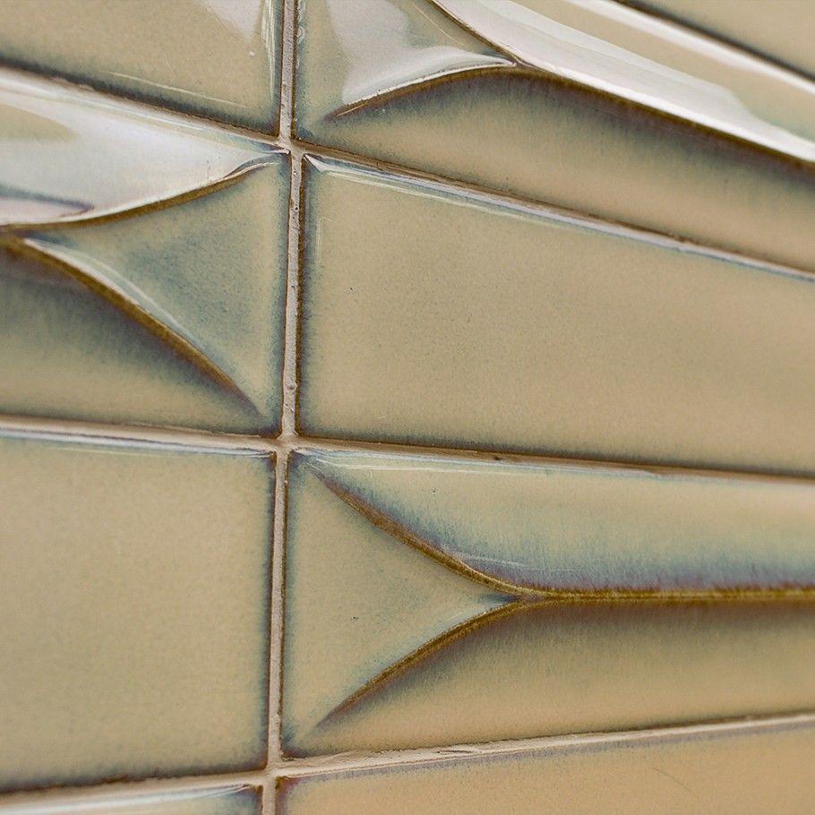Byzantine 3d Latte Ceramic Subway Tile Ceramic Subway Tile Glazed Ceramic Tile Handmade Ceramic Tiles