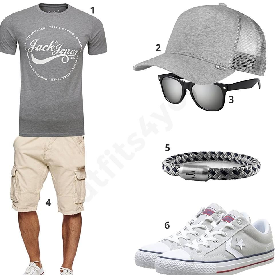 Grauer Sommer-Style für Männer (m0370 | Wynn's fashion ...