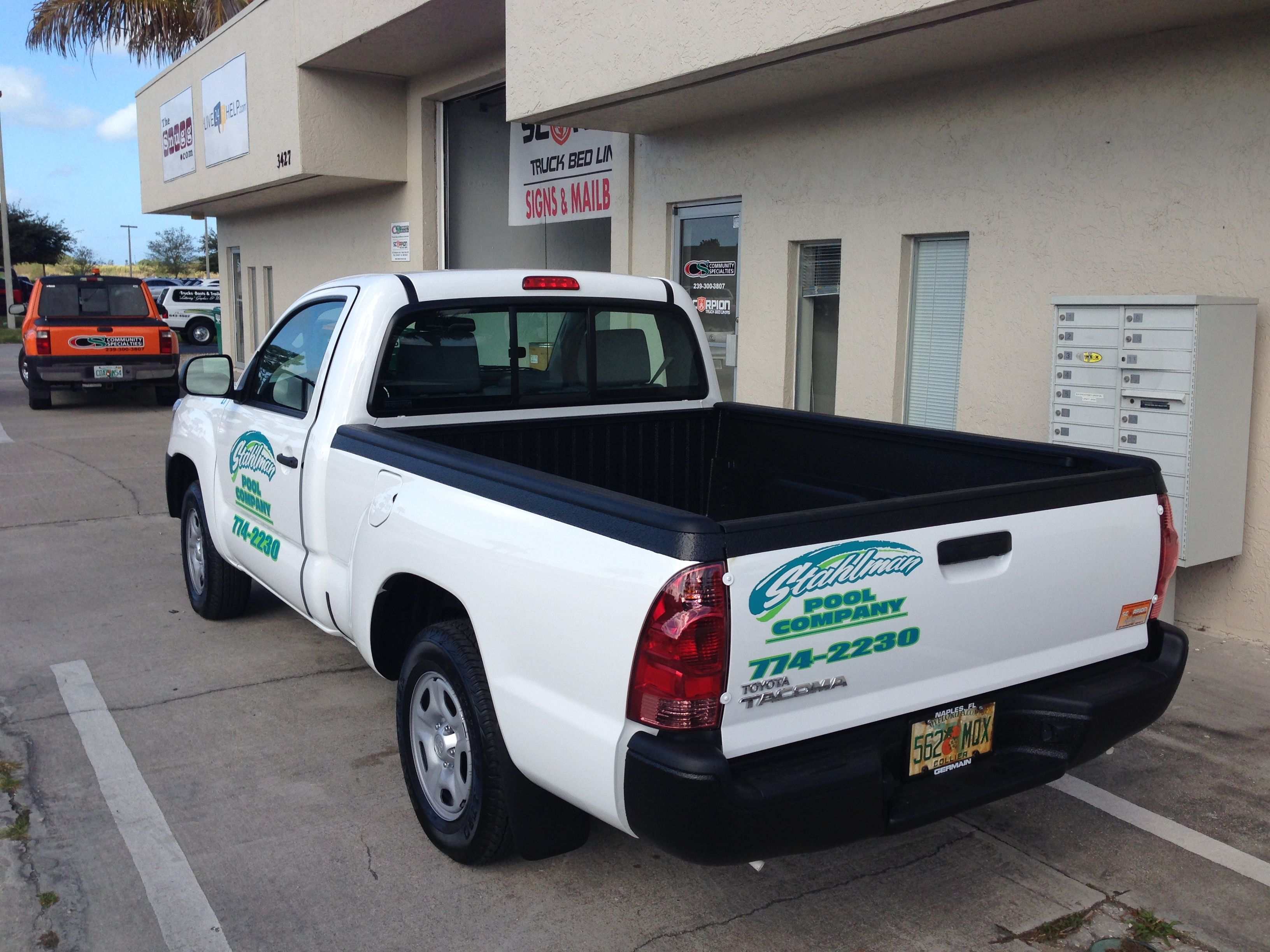 Bed liner for trucks system which is composed of the