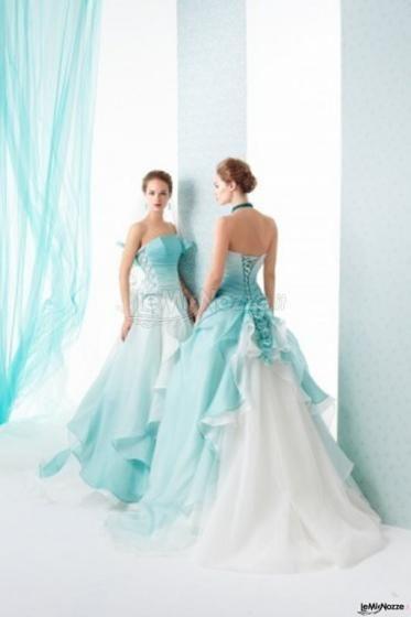 the latest cb444 07fcd Abiti da sposa colorati: ricca galleria di immagini di ...