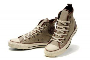 Beige Converse Chuck Taylor All Star D-Ring Natural Faint Ox Hig,converse  one
