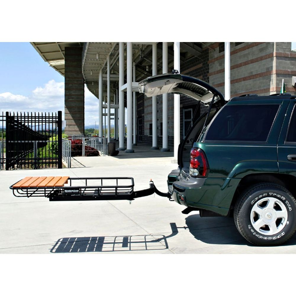 Trailer Hitch Luggage Rack Best Hitch Luggage Rack  Cargo Rack  Steel Cargo Carrier  Stowaway Review
