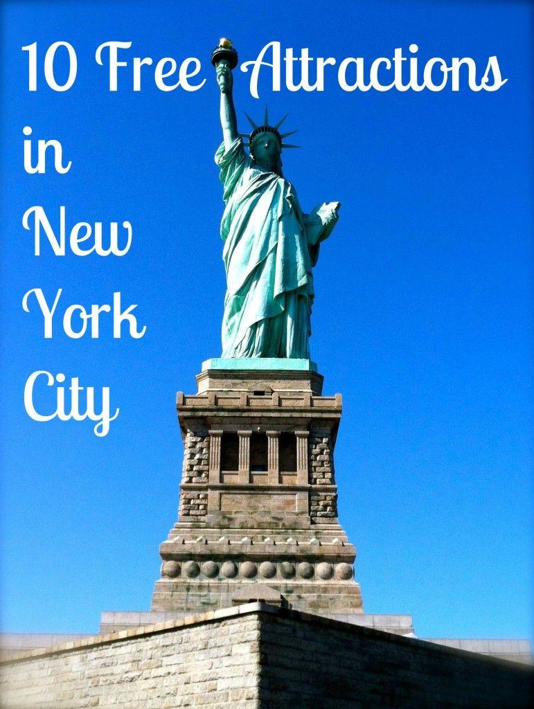 Ten Free Attractions in New York City   New york attractions, New york vacation, New york travel
