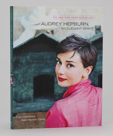 Take a look at this Audrey Hepburn, An Elegant Spirit Paperback by Simon & Schuster