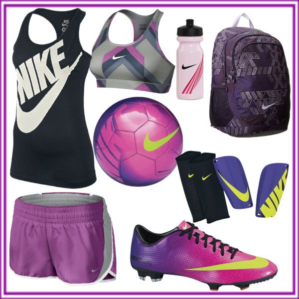 Purple soccer | Soccer outfits, Soccer girls outfits, Girls soccer