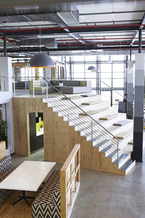 Inhouse Möbel 99c offices by inhouse brand architects features a waiting room