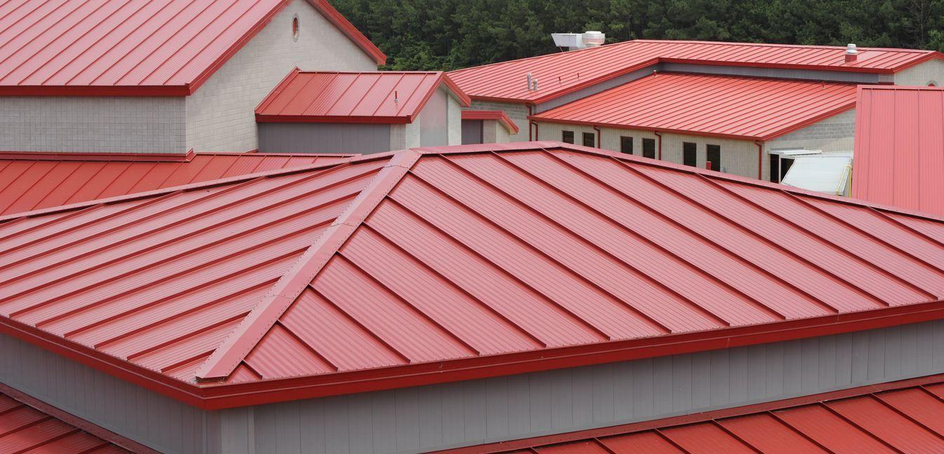 Outstanding metal roof Rumah, Tips, Industrial