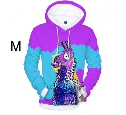 71ab436c72fb ... Loot Lama hoody size Medium purple and blue with lama on both sides   fortnite  fortnitebattleroyale  live