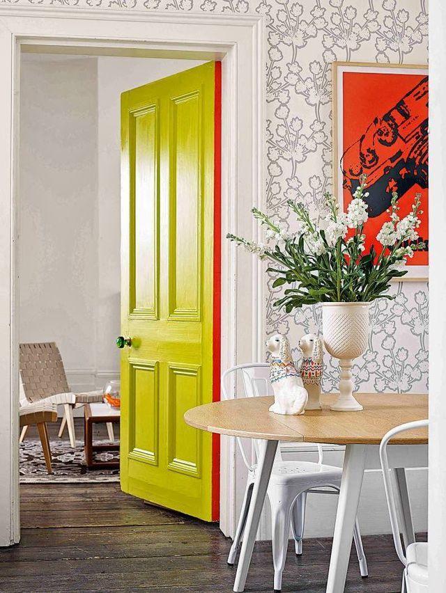 Peinture porte intérieure 10 idées relooking
