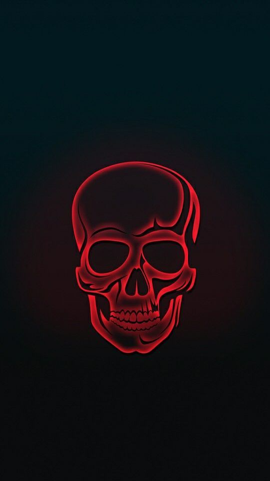 Red Skull Amoled Iphone Wallpaper Iphone Background In