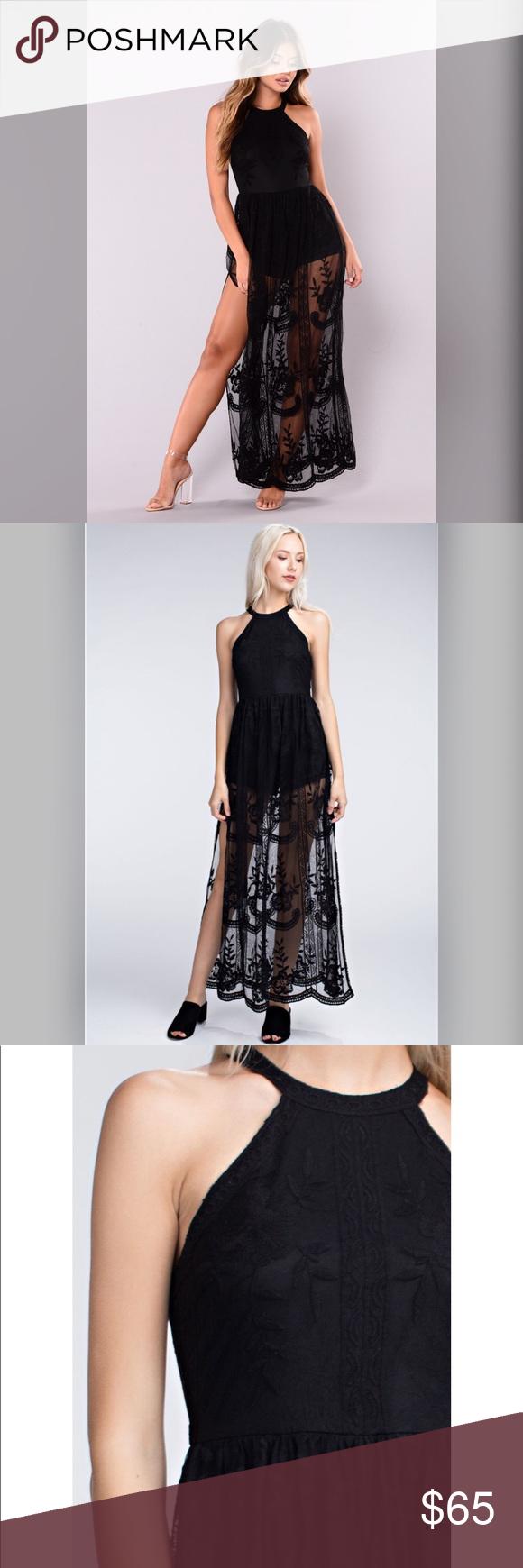 Prime time lace maxi dress boutique