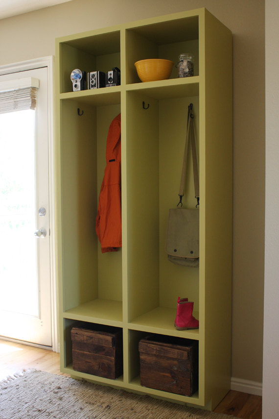 Entryway Storage Lockers Woodworking Plans By Irontimber On Etsy 10 00