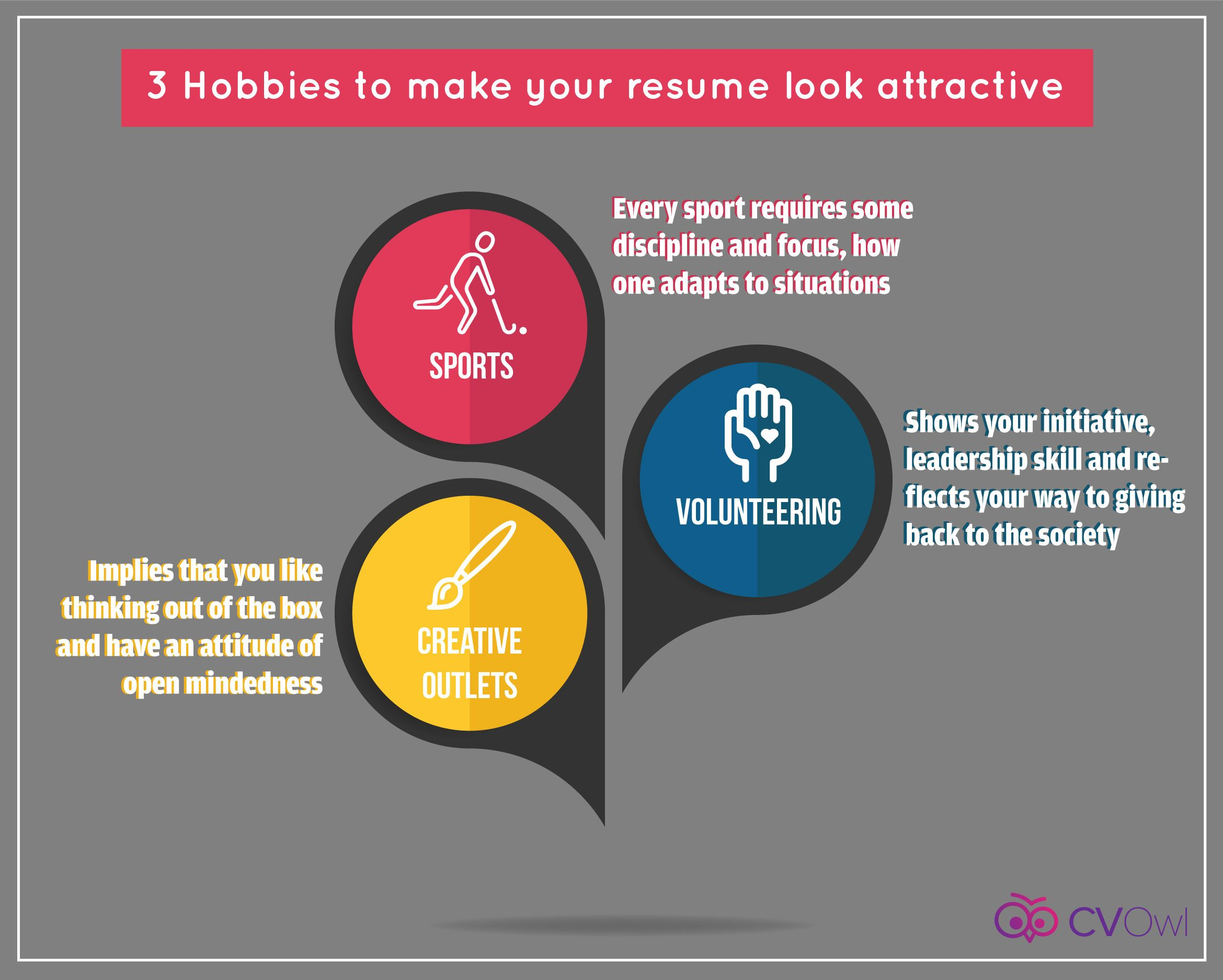 3 Hobbies to make your resume look attractive