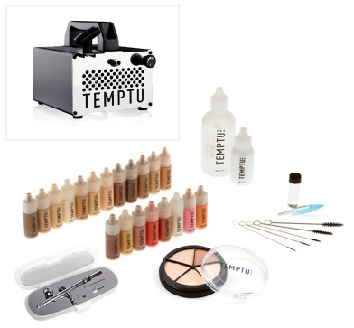 Temptu Pro Airbrush Makeup Kit Review Airbrush makeup
