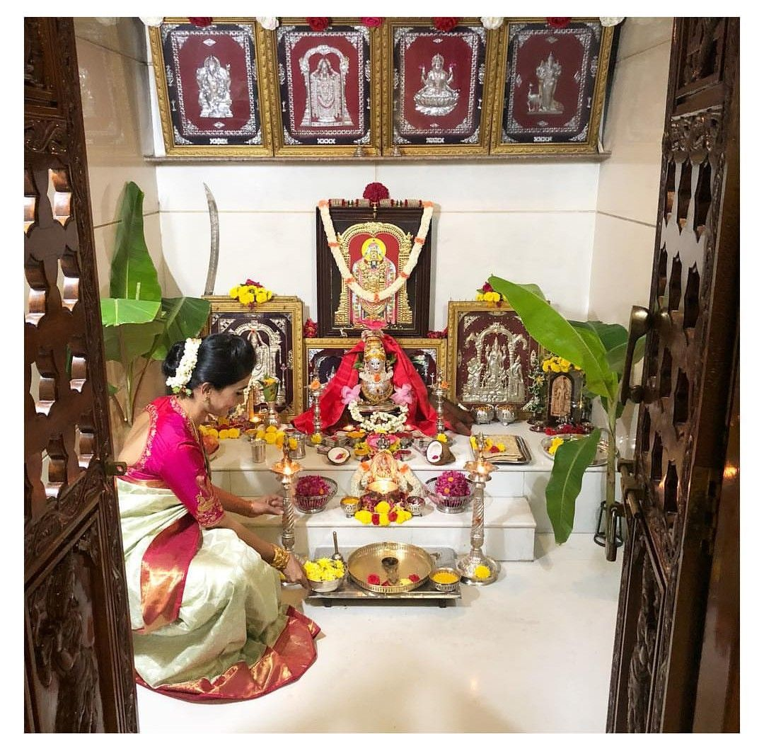 20 Mandir Designs For Indian Homes: Pooja Room Door Design, Pooja Room Design