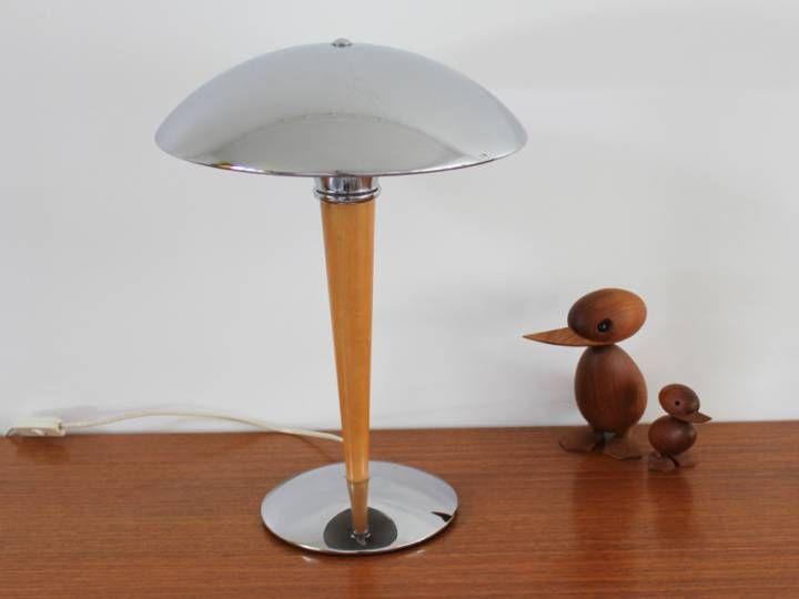 Lampe Champignon Paquebot Vintage | Luminaires Vintage | Pinterest