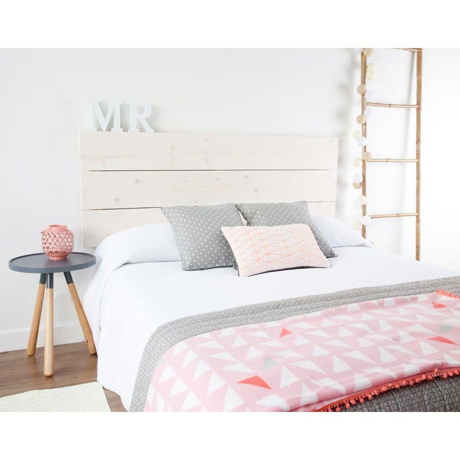 Cabeceros plateados cabecero de cama madera blanca tallada en relieve cabecero de forjacaa - Cabeceros plateados ...