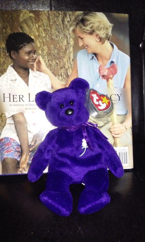 24cd2dc03e8 Only ONE Princess Diana Beanie Baby on Ebay! 1st Bid gets it! Place bid  above!