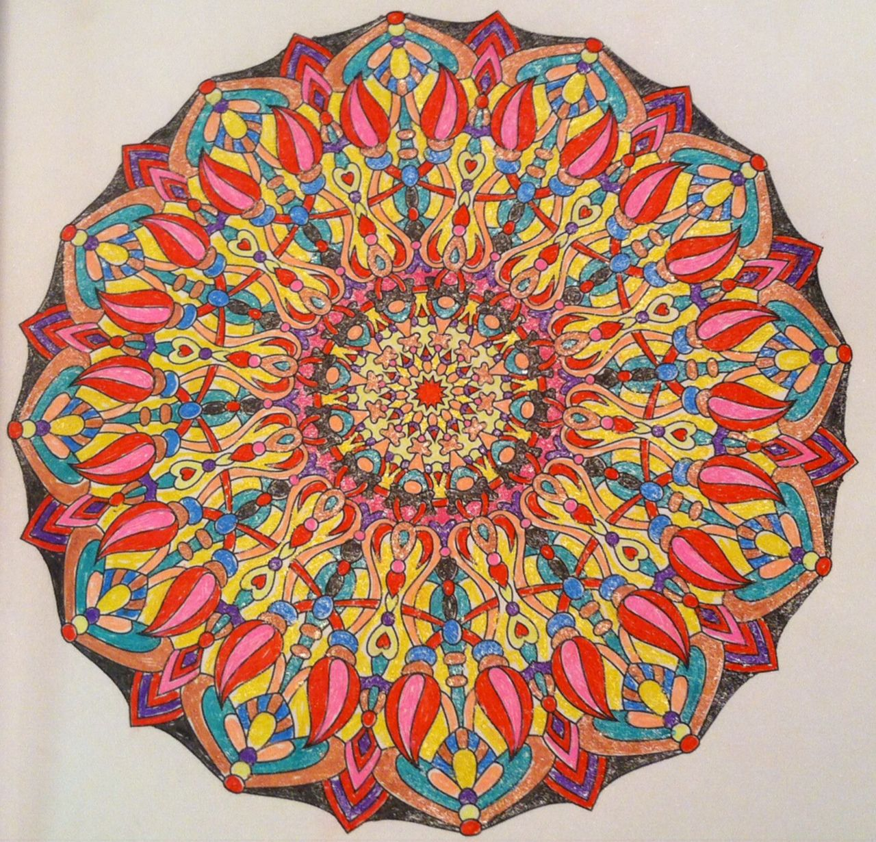 One of my first attempts: Angie Grace\'s Balance book.   mandalas ...