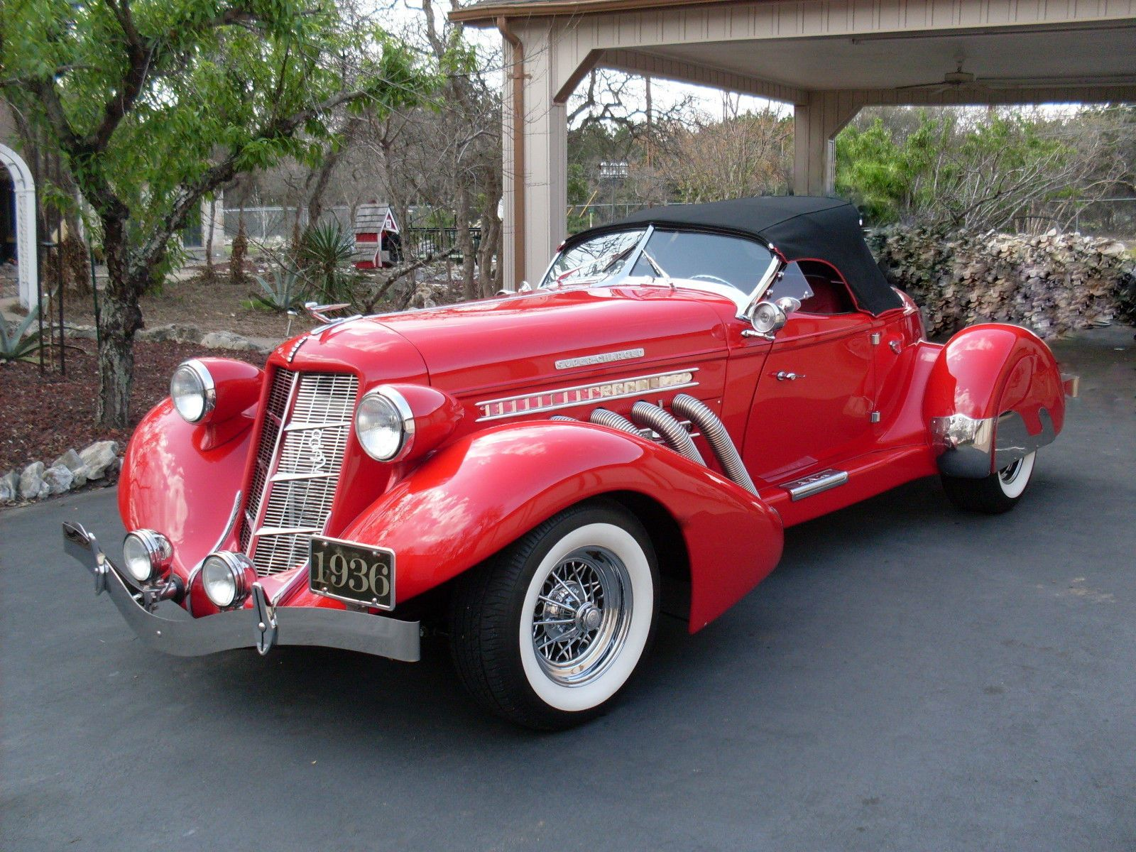 1936 2nd Generation Reproduction Auburn 852 Speedster Auburn