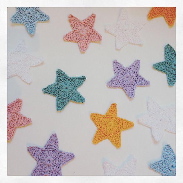 Crochet Star Motif By Martine de Regt - Free Crochet Pattern ...