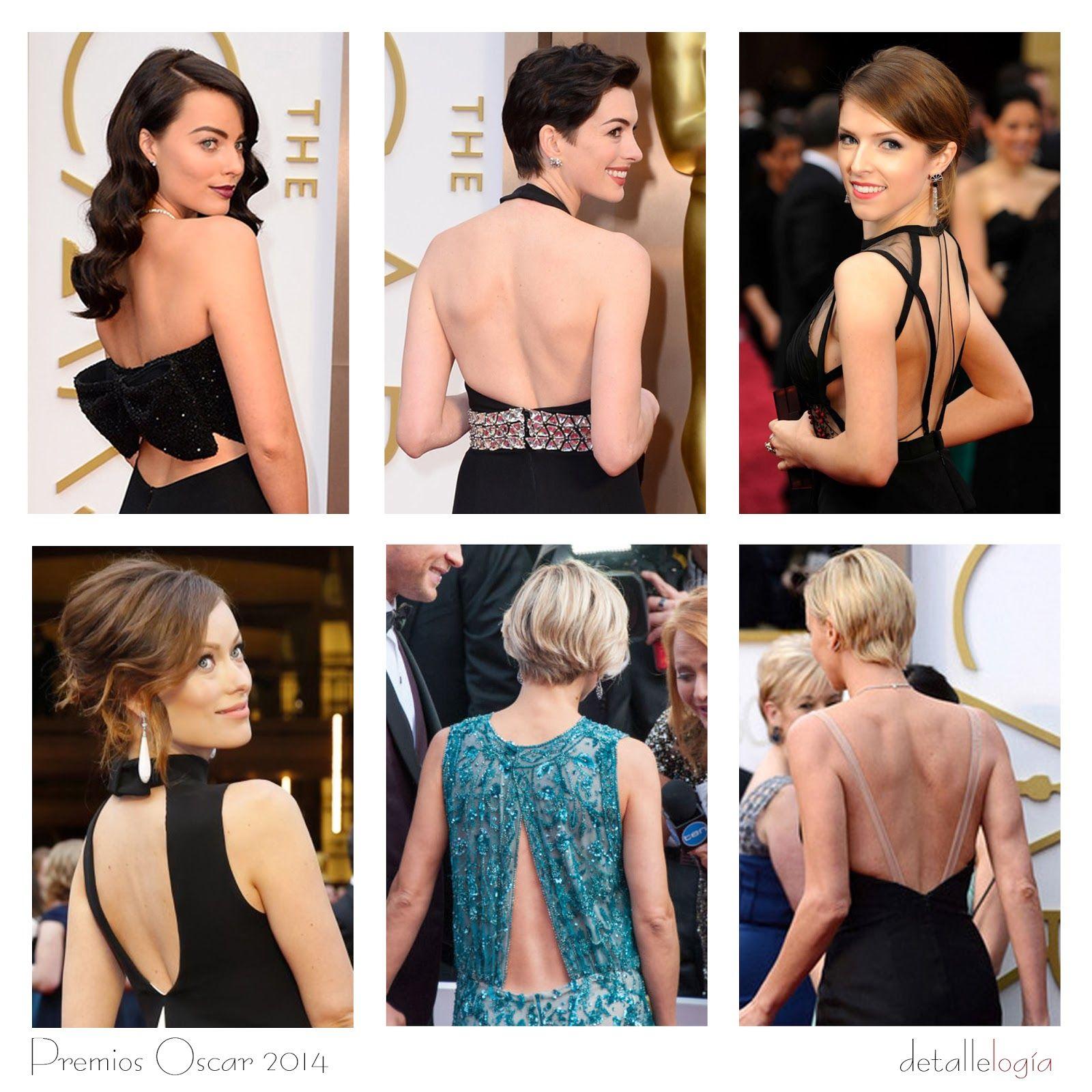 Tendencias en los Oscar 2014-Espaldas al aire