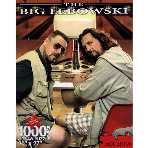 The Big Lebowski 1000 Piece Puzzle | Puzzles and Word ...