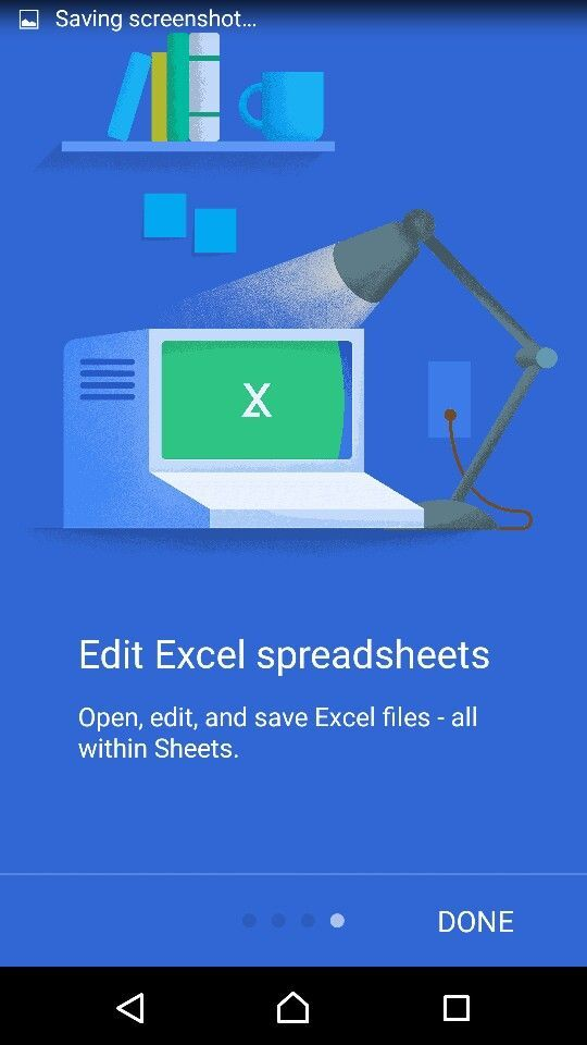 Google product branding illustration Product branding - spreadsheet google docs mobile