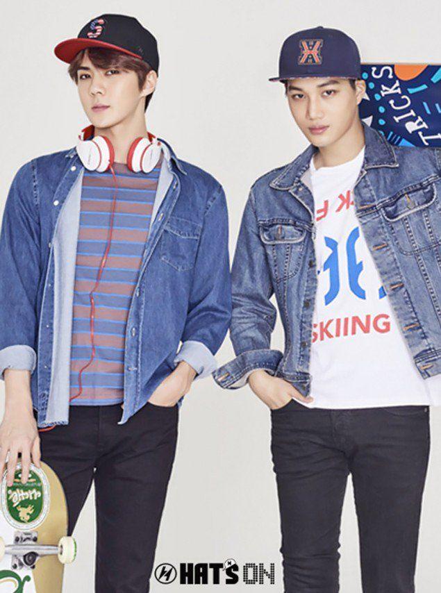 "EXO Rocks Fresh Accessories in ""Hat's On"" Photoshoot | Koogle TV"
