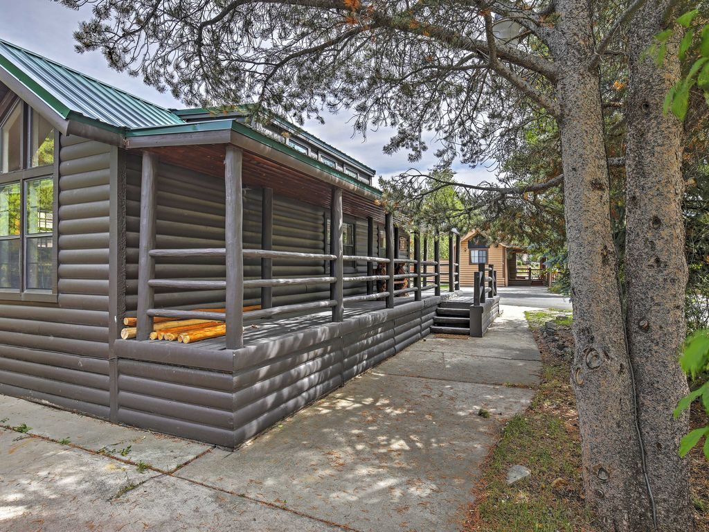 log park cabin cottages breckenridge living model trailers pin