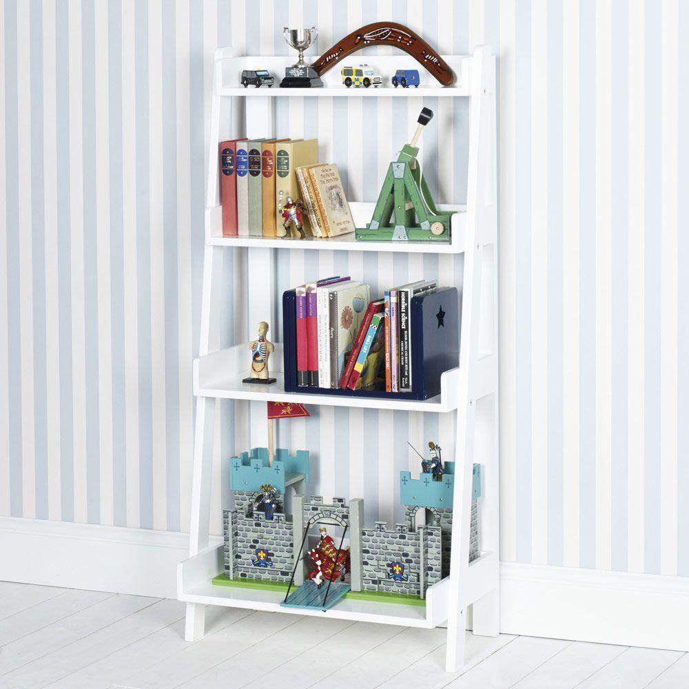 Bookcase Bedroom Furniture Ladder Bookcase White Bookcases Bookshelves Childrens
