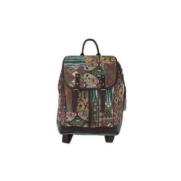 Novica Cotton backpack, Day Trip Fringe